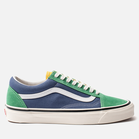 Кеды Vans Old Skool 36 DX Anaheim Factory Emerald/Navy