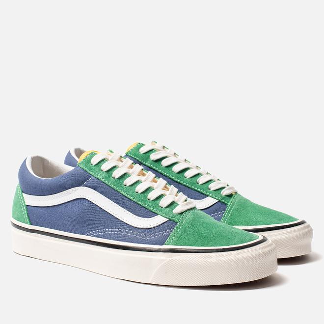 Кеды Vans Old Skool 36 DX Anaheim Factory Emerald/Navy