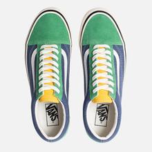Кеды Vans Old Skool 36 DX Anaheim Factory Emerald/Navy фото- 1