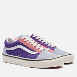 Кеды Vans Old Skool 36 DX Anaheim Factory Light Blue/Purple/Pink