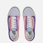 Мужские кеды Vans Old Skool 36 DX Anaheim Factory Light Blue/Purple/Pink фото - 1