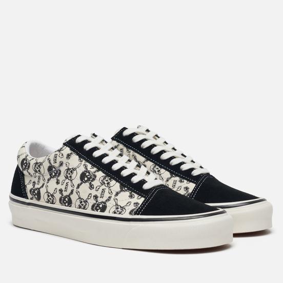Кеды Vans Old Skool 36 DX Anaheim Factory Skulls/Black/White