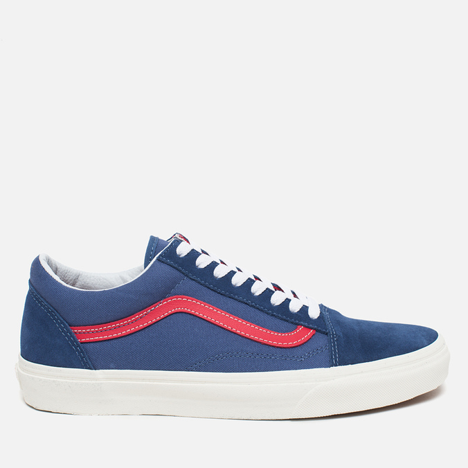 Кеды Vans Old Skool Bijou Blue/Racing Red
