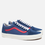 Кеды Vans Old Skool Bijou Blue/Racing Red фото- 1