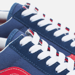 Кеды Vans Old Skool Bijou Blue/Racing Red фото- 5