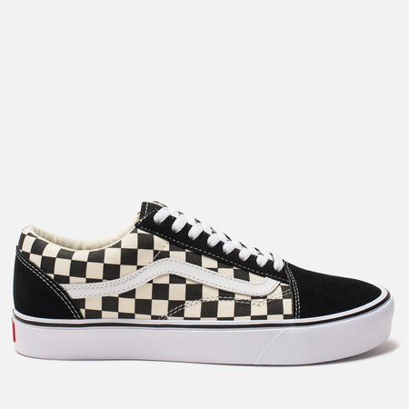 Кеды Vans Old Skool Lite Checkerboard Black/White