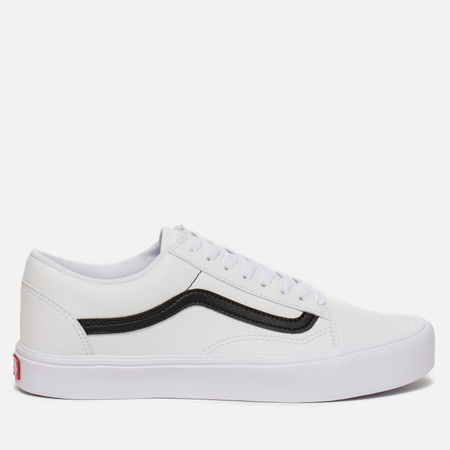 Кеды Vans Old Skool Lite Classic Tumble True White/Black