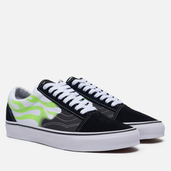 Кеды Vans Old Skool Low Flame Black/True White