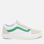 Кеды Vans Old Skool True White/Kelly Green фото- 0