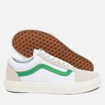 Кеды Vans Old Skool True White/Kelly Green фото- 2