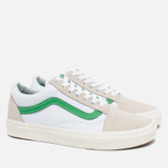 Кеды Vans Old Skool True White/Kelly Green фото- 1
