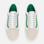Кеды Vans Old Skool True White/Kelly Green фото- 4