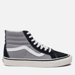 Мужские кеды Vans SK8-Hi 38 DX Anaheim Factory Black/Light Grey фото- 0