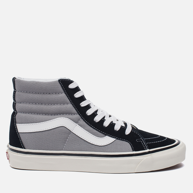 Мужские кеды Vans SK8-Hi 38 DX Anaheim Factory Black/Light Grey