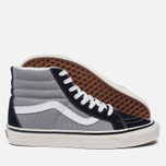 Мужские кеды Vans SK8-Hi 38 DX Anaheim Factory Black/Light Grey фото- 2