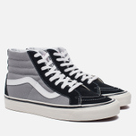 Мужские кеды Vans SK8-Hi 38 DX Anaheim Factory Black/Light Grey фото- 1