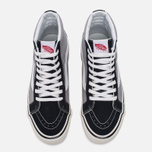 Мужские кеды Vans SK8-Hi 38 DX Anaheim Factory Black/Light Grey фото- 4