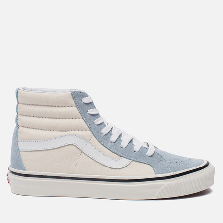 Мужские кеды Vans SK8-Hi 38 DX Anaheim Factory Light Blue/White