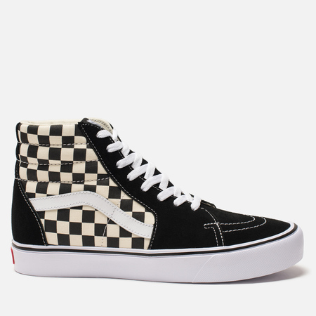 Кеды Vans SK8-Hi Lite Checkerboard Black/White