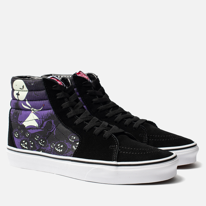 Кеды Vans x Disney The Nightmare Before Christmas SK8-Hi Jacks Lament Black/Multicolor