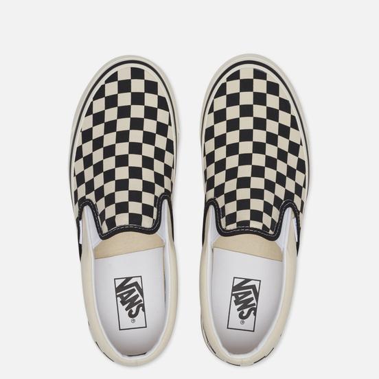 Кеды Vans x Fast Times Classic Slip-On 98 DX Anaheim Factory Black/White