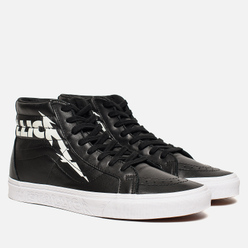 Кеды Vans x Metallica SK8-Hi Reissue Black/True White