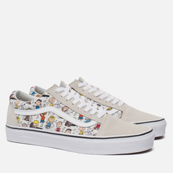 Кеды Vans x Peanuts Old Skool Multi/True White