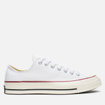 Converse Chuck Taylor 70 Plimsoles White/Red photo- 0