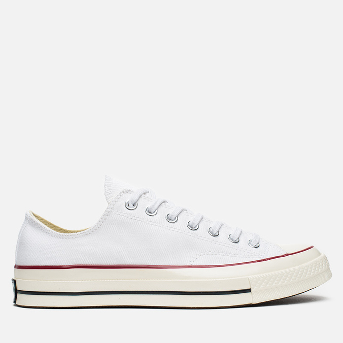 Converse Chuck Taylor 70 Plimsoles White/Red