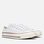 Converse Chuck Taylor 70 Plimsoles White/Red photo- 1