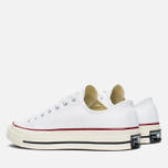 Converse Chuck Taylor 70 Plimsoles White/Red photo- 2