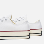 Converse Chuck Taylor 70 Plimsoles White/Red photo- 7