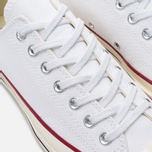 Converse Chuck Taylor 70 Plimsoles White/Red photo- 5
