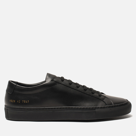 Мужские кеды Common Projects Original Achilles Low Black