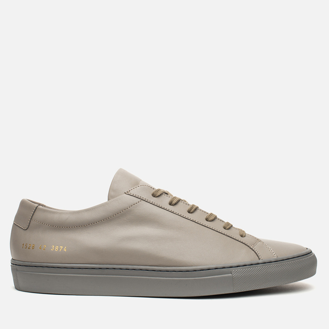 Мужские кеды Common Projects Achilles Low Medium Grey
