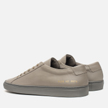 Мужские кеды Common Projects Achilles Low Medium Grey фото- 2