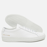 Мужские кеды Common Projects Original Achilles Low White фото- 2