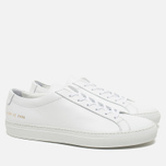 Мужские кеды Common Projects Original Achilles Low White фото- 1