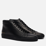Мужские кеды Common Projects Original Achilles Mid Black фото- 0