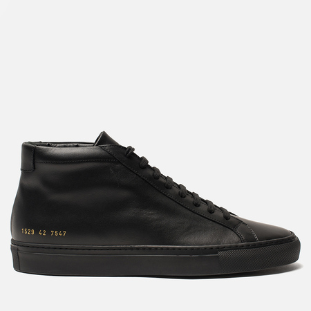 Мужские кеды Common Projects Original Achilles Mid Black