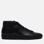 Мужские кеды Common Projects Original Achilles Mid Black фото- 3