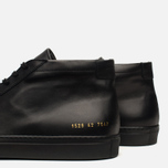 Мужские кеды Common Projects Original Achilles Mid Black фото- 6