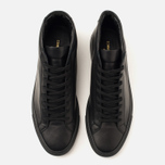 Мужские кеды Common Projects Original Achilles Mid Black фото- 7