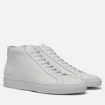 Мужские кеды Common Projects Achilles Mid White фото- 0