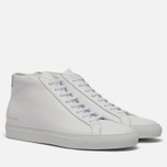 Мужские кеды Common Projects Original Achilles Mid White фото- 0