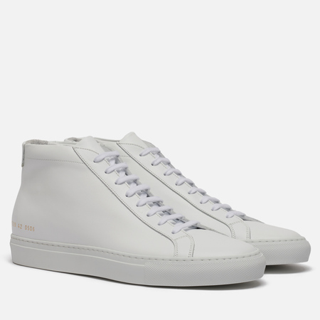 Мужские кеды Common Projects Achilles Mid White
