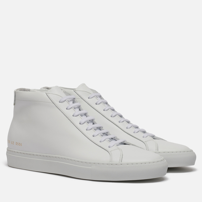 Мужские кеды Common Projects Original Achilles Mid White