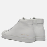 Мужские кеды Common Projects Achilles Mid White фото- 2
