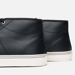 Fred Perry Haydon Mid Leather Men's Plimsoles Black photo- 5