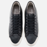 Мужские кеды Fred Perry Haydon Mid Leather Black фото- 4